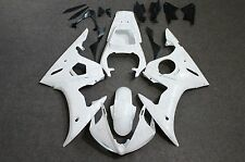 Fairing Injection Unpainted White Plastic Fit for Yamaha 2003 2004 2005 YZF R6