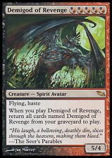 MTG DEMIGOD OF REVENGE EXC - SEMIDIO DELLA VENDETTA - SHM - MAGIC