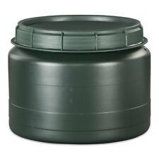 25 Liter grüne Futtertonne Futterfass Vorratstonne Drehdeckel NEU.