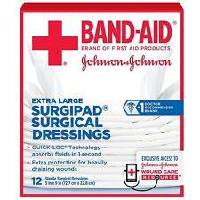 BAND-AID Surgipad Surgical Dressing, Extra Large 12 ea