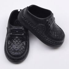 1 Pair Party Doll's Black Shoes For Boyfriend Ken Doll Best Gift Tool.