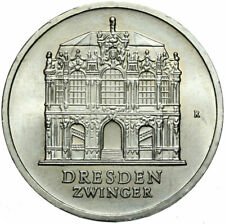 Gedenkmünze DDR - 5 Mark 1985 A - Dresden - Dresdener Zwinger - Stempelglanz UNC