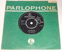 """THE BEATLES SHE LOVES YOU 1963 PARLOPHONE UK 7"""" TYPE 3 DECCA CONTRACT 1st PRESS"""