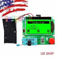 Green 12864 Mega328 ESR Transistor Resistor Diode Triode Capacitor Mosfet Tester