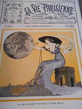 Un Coup de pinceau Girl Peintre Léonnec Couverture Print Cover 1912