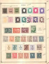 Timor Collection from Great 1840-1940 Scott Intern Album