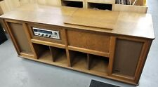 Handcrafted Vintage Stereo Console-Scott 344 FM Tuner-Dual 1237 Turntable MINT