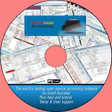 TURBOCASH 5 HOME & BUSINESS PRO ACCOUNTING SOFTWARE CD ROM & SIMPLE HELP GUIDES