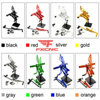 For Triumph DAYTONA 675 2006-2012 Rearset Footrest Footpegs Brake Lever Pedals