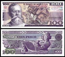 Mexico 100 PESOS 1982 P 74c UNC