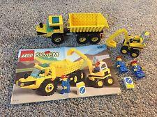 Vintage 1996 Lego Town Dig 'N' Dump (6581) 100% Complete Excavator Truck