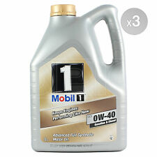 Mobil 1 FS 0W-40 Fully Synthetic Engine Oil 0W40 Mobil1 3 x 5 Litre 15L