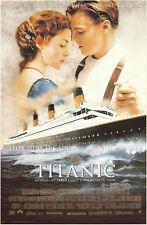 TITANIC ~ INTERNATIONAL 23x35 MOVIE POSTER Leonardo Dicaprio  NEW/ROLLED!