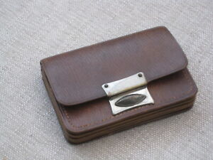 small vintage leather purse in good condition