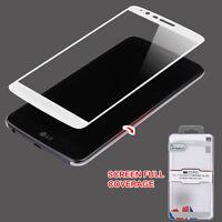 Full age Temper Glass Silver LG LS777 Stylo 3 LG Stylo 3 Plus LG MP450 LG TP450