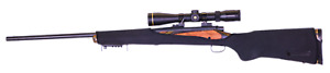 NeoGards - Neoprene Rifle Protectors. Small To Medium Hunting Rifles - BLACK