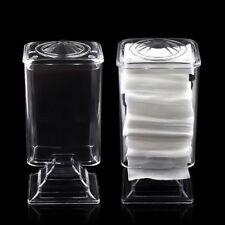 Holder Box Nail Polish Wipe Rack Cosmetic Organizer Makeup Cotton Pad Case