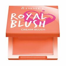 RIMMEL ROYAL BLUSH CREAM BLUSH BLUSHER 001 PEACH JEWEL 100% original UK