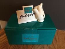 Wdcc Disney's 'Renaissance Man' Mark Davis Porcelain Place Card Holder