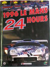 LE MANS 24 HOURS 1996 YEARBOOK / ANNUAL MOITY TEISSEDRE BOOK ISBN:2930120088