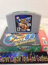 Bomberman 64: The Second Attack (Nintendo 64, 2000) N64 Cleaned & Tested w/ Case