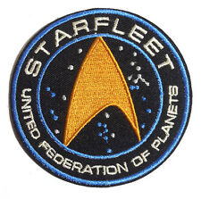 "Star Trek Beyond- Starfleet UFP Gold Center 3.5"" Patch-FREE S&H (STPA-SFC-16)"