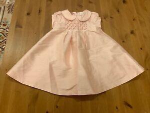 Gymboree Girls 18-24M Pink Silk Lined Dress 2007 Vintage