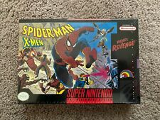 Spider-Man and The X-Men in Arcade's Revenge (Super Nintendo SNES) SEALED