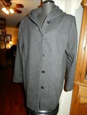 Women's Dark Grey Winter Coat Size XL Just Dry Cleaned