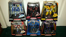 Transformers Rainmakers Seekers Titanium Starscream Thundercracker Skywarp ++