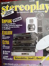STEREOPLAY 7/91 PIONEER C7,CASIO DA 7,KENWOOD DX 7,7030,TEAC R 10,MARANTZ SP 50
