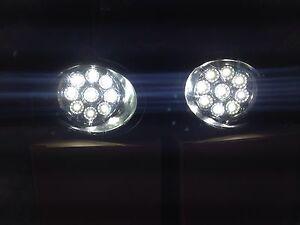 LED DRL FOG LIGHTS VW TRANSPORTER T5.1   CARAVELLE 2010 COMPLETE KIT WITH SWITCH
