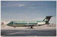 Braniff International BAC 111 Vintage Postcard