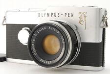 [N MINT] Olympus Pen F 35mm Half Frame Film Camera w/ Zuiko 38mm F1.8 From JAPAN