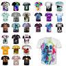 Fashion Mens Womens 3D Print T-Shirt Casual Short Sleeve Graphic Tops Tee S-4XL