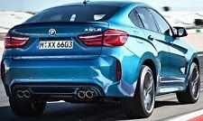 Aleron BMW X6 F16 desde 2015 a 2019 X6M alerón negro brillo spoiler
