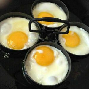 Silikon Spiegeleiform Herz Rund Eierring Spiegelei Antihaft Eierform Pfannenring