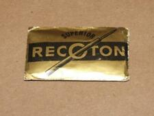 Vintage Superior Recoton Phonograph Needles pack of 10 Unopened NOS