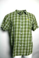 Oakley XL Plaid Button Front Down Short Sleeve Shirt