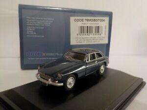 MGB GT - Blue, 1/76 Oxford Diecast 76mgbgt004 Model Car