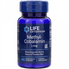Life Extension, Methylcobalamin, 1 Mg, 60 Vegetarian Lozenges