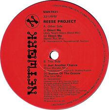 "REESE PROJECT DIRECT ME 12"" vinyl RARE DETROIT HOUSE 1991 KEVIN SAUNDERSON"