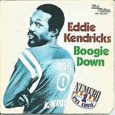 "EDDIE KENDRICKS-BOOGIE DOWN + CAN´T HELP WHAT I AM SINGLE VINYL 7"" 1974 SPAIN"