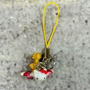 Sanrio Hello Kitty Airplane Fish Phone Charm Figure