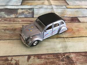 Voiture Miniature Citroen 2CV Welly au 1/34