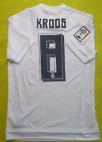 Kroos Real Madrid Jersey 2015 2016 Home S Shirt Camiseta Football Adidas ig93