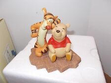 Pooh And Friends Thanks for being a caring sort of bear figurine with Box & Card