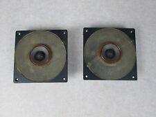 Pair Of JBL LE25 Tweeters for L100, L26, L36, 4311, 4312 8 ohms, Orange Surround