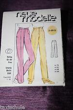 Original 80er Jahre DDR neue Modelle Hosen Schnittmuster 2-0913 Vintage Retro
