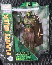 "Disney Exclusive Marvel Select Planet Hulk Gladiator Hulk 10"" Figure - In Hand"